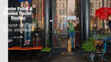 Photo de Le cœur de Paris dans une radio.
