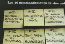 Photo de Les 10 commandements de «le» nuit