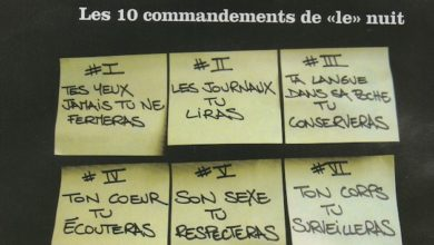 Photo de Les 10 commandements de «le» nuit