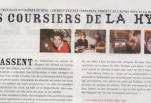 Photo de LES COURSIERS DE LA HYPE. Portrait dans le magazine Technikart.