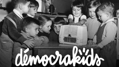 Photo de Lancement de Democrakids Radio, la radio des enfants et des parents libres.